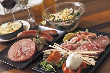 OBICA MOZZARELLA BAR 東京ミッドタウン店(オービカモッツァレラバー トウキョウミッドタウンテン) - 六本木 - 東京都(イタリア料理)-gooグルメ&料理