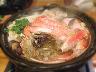 蟹たっぷりの蟹すき鍋で心もあったか♪