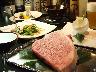 由緒正しき宮崎牛を鉄板焼きステーキで