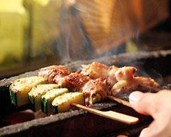 田崎真也さんと行く炭火焼の美味い店