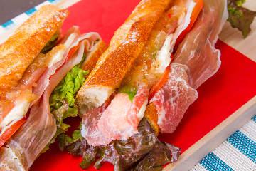 Speciality sandwich RICHLY