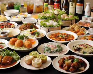 横浜中華街 龍海飯店 オーダー式食べ放題
