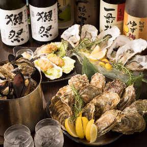牡蠣浜焼き×居酒屋 赤坂水産