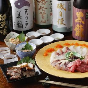 鮪と日本酒 酔天喰 人形町