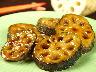 秋〜冬限定のレンコンは熊本県産の無農薬、無化学肥料のもの。