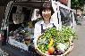 信頼できる八百屋さんから毎日届く、有機野菜。