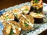 酵素玄米の太巻き寿司