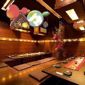 【隠れ庭園個室】 ささのや茶々 札幌店