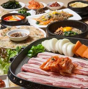 韓国酒家・韓国家庭料理 韓の香 南2条HUGマート店