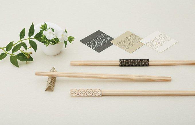 すべての折り紙 四季の折り紙 : 折り紙式お箸飾り。洗練された ...