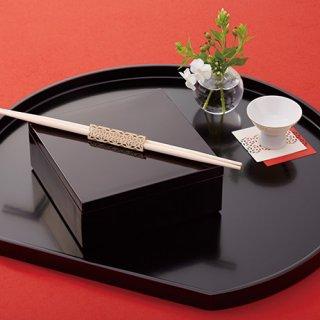 折り紙式お箸飾り。洗練された食卓を演出する新しい発想のテーブルアイテム