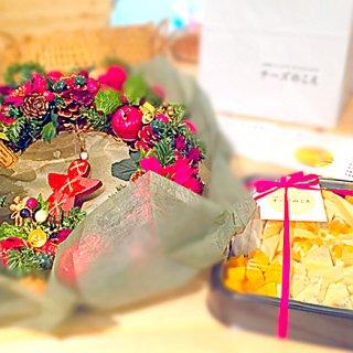 クリスマスパーティに華をそえるチーズプラトーを手土産に!!