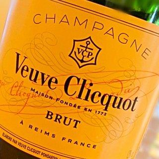 太陽の下で飲みたいシャンパーニュVeuve Clicquotの「イエローラベル」