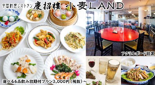 ニューオーサカホテルグループ 慶招樓(けいしょうろう)小麦ランド店 image