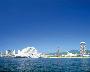目の前に広がる神戸港