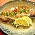 鯛のカルパッチョ、野菜もいっぱいとれてでヘルシー