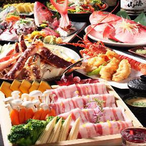 優雅個室×食べ放題 海千魚千 渋谷本店