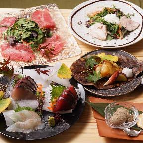 銀座木邑 和食と日本酒と木のぬくもり