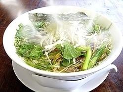 野菜シャキシャキ!しお味野菜ラーメン\650