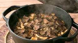 旬の豪華素材を贅沢に使いじっくり丁寧に火を通した炊き込みご飯