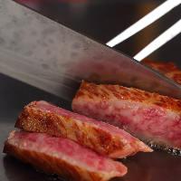 A5黒毛和牛や高級魚介を愉しむ鉄板焼。特別な日にいかがですか