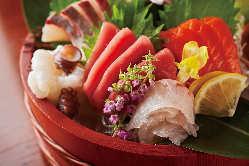 市場直送!鮮魚のお造り