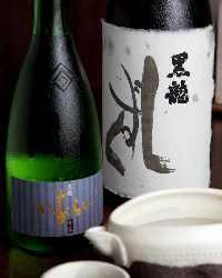 【厳選銘酒】 全国の蔵元より厳選した日本酒が楽しめます♪