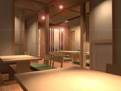 宴会・完全個室にも対応 個室の掘りこたつ式で足を下ろせます。
