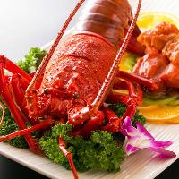 【豪華食材】 鮑や伊勢海老、フカヒレなどの高級食材もリーズナブルに!