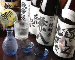 旨い料理には旨い酒◎日本酒・焼酎・果実酒各種あり!