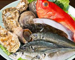 季節の新鮮魚介を堪能できる荻窪の隠れ家