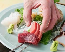 それぞれのお料理で魅せる職人熟練の技