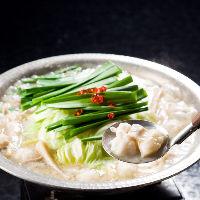 一番人気は博多もつ鍋、通年で人気です。