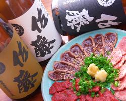 """熊本""""馬刺と鬣""""&""""レバ炙り""""に黒白麦""""佐藤""""!"""
