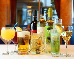 40種類を越えるドリンクはお酒の苦手な方も安心!