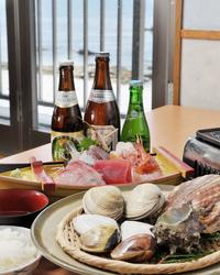 かなや自慢の貝料理・魚料理を是非お楽しみ下さい♪