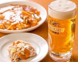 キリンビール最高基準公式認定店の生ビールをぜひ!