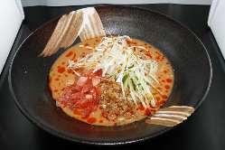 こちらも人気のピリ辛☆冷やしタンタン麺!