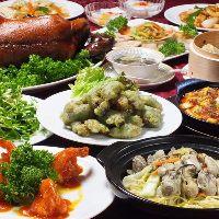 NEW【スペシャルコース】北京ダックと福建郷土海鮮響宴コース