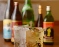 様々な種類のお酒をご用意しております。
