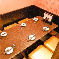 3~8名様完全個室ゆっくりお食事できます