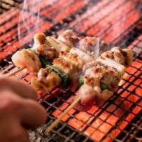 【焼き鳥食べ放題】 焼き鳥+4品食べ飲み放題⇒2980円!