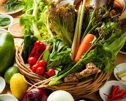 新鮮な野菜、ハーブ、スパイスなどを使用します!