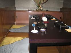 人気の堀コタツ部屋です!落ち着く御部屋です
