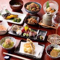 旬の味覚を楽しむ「料理長のおまかせコース」は7,000円(税抜)〜