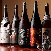 日本料理の美味しさをさらに引き立てる日本酒をご用意しています