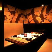 会社宴会にも最適◎和情緒漂う落ち着いた雰囲気の和モダン個室!