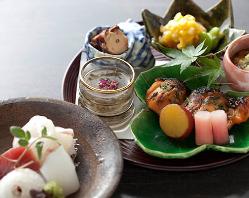 京野菜を使った四季折々の料理。