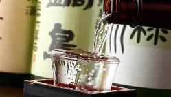 【美酒銘酒】 厳選して取り揃えた日本酒は常時40種以上