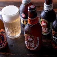 ボトルのクラフトビール「常陸野ネスト」を種類豊富に品揃え